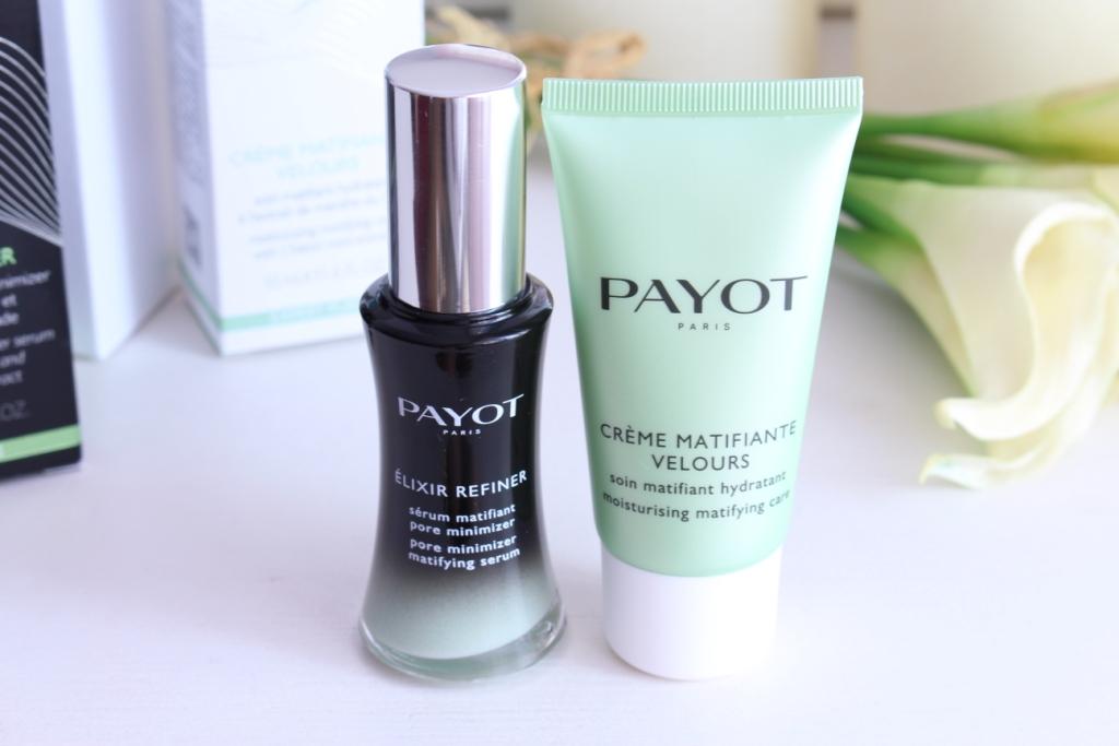 Payot Уход за лицом: Сыворотка для сужения пор Elixir Refiner и Матирующий увлажняющий крем Moisturising Matifying Care