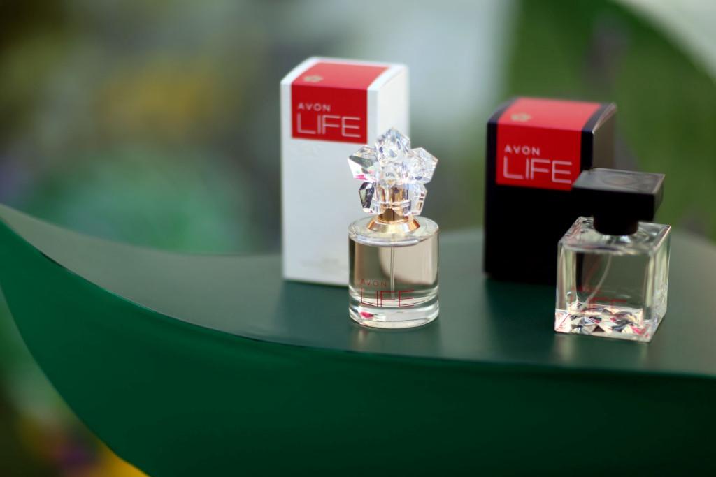 Презентация ароматов Avon LIFE
