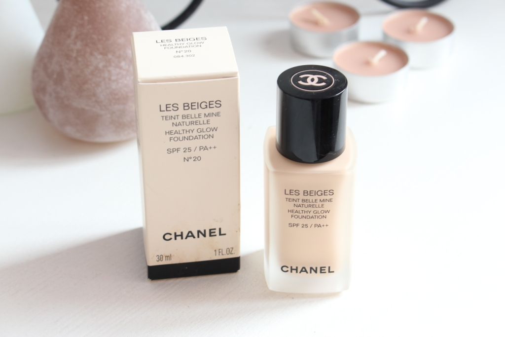 Chanel Les Beiges Healthy Glow Foundation SPF 25 Тональная основа