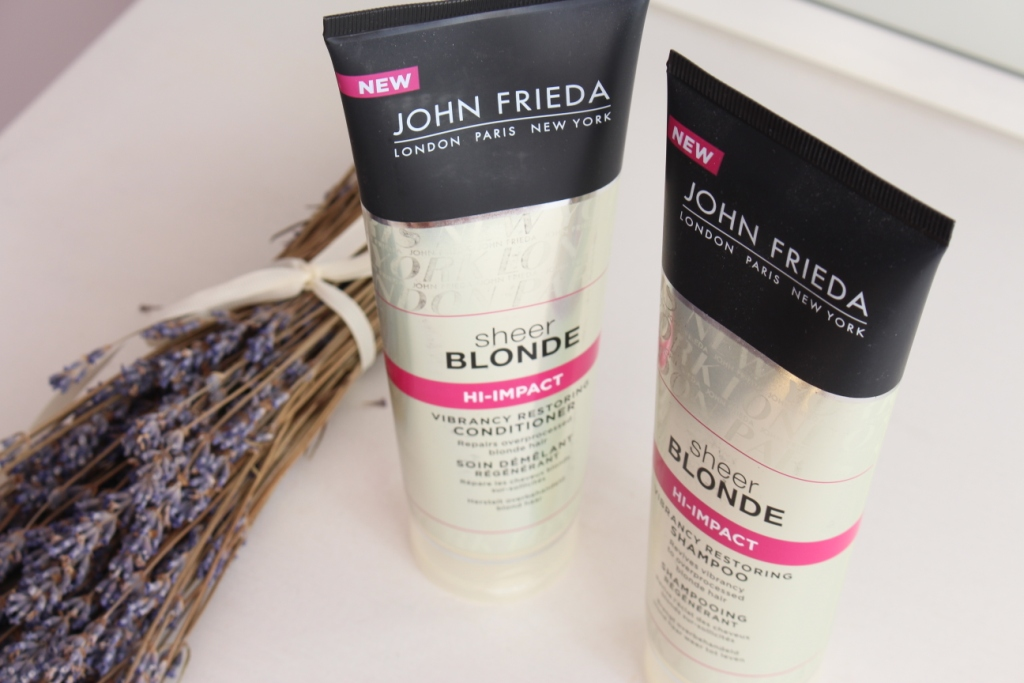 John Frieda Sheer Blonde Шампунь и кондиционер