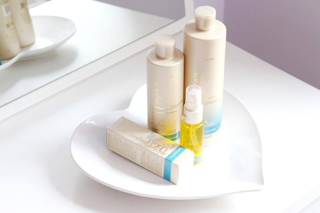 Avon Advance Techniques «Комплексный уход» Шампунь, ополаскиватель, сыворотка для волос