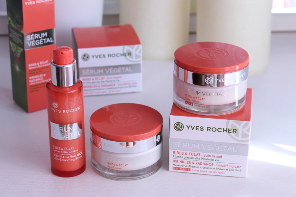 Yves Rocher Serum Vegetal Wrinkles&Radiance Уход за лицом