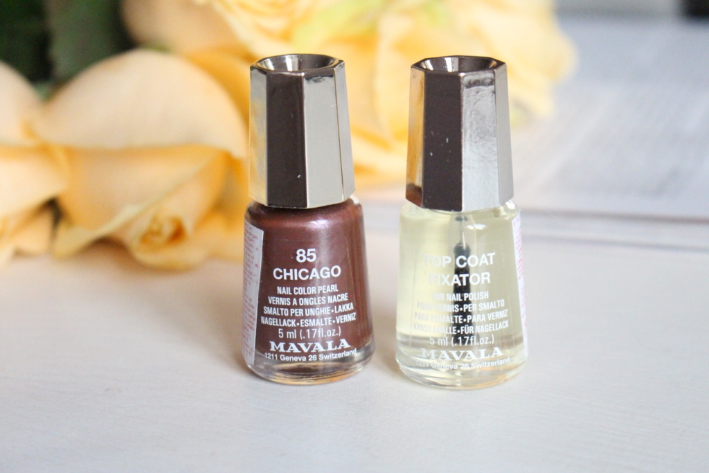 Mavala «Symphonic Color's» Nail Color Pearls «85 Chicago» & Top Coat Fixator