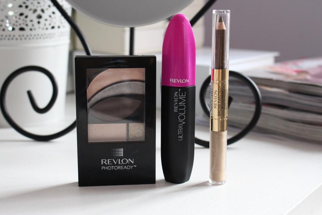 Макияж глаз с косметикой Revlon