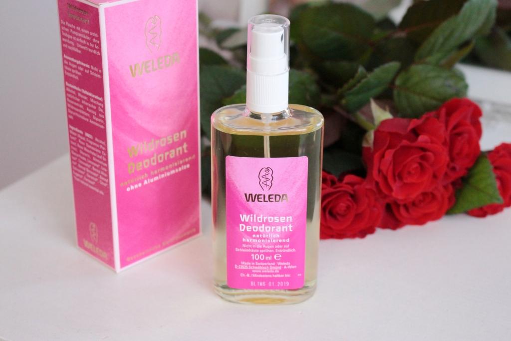 Weleda Розовый дезодорант