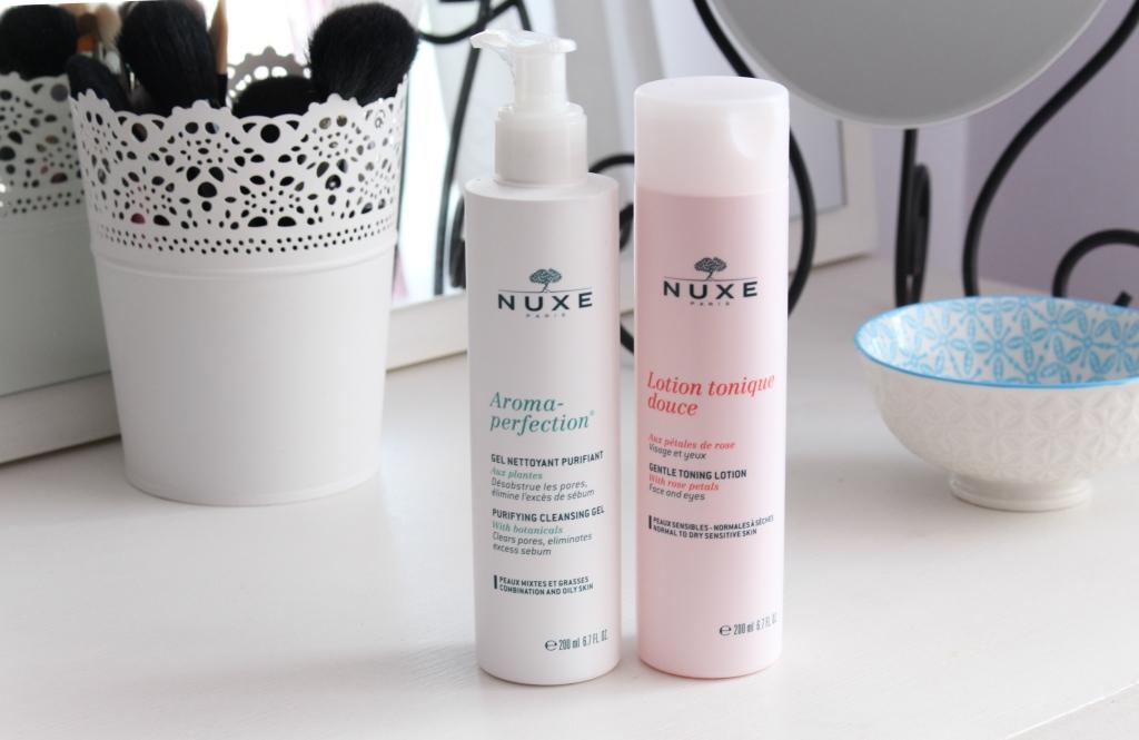 Очищение лица с косметикой Nuxe