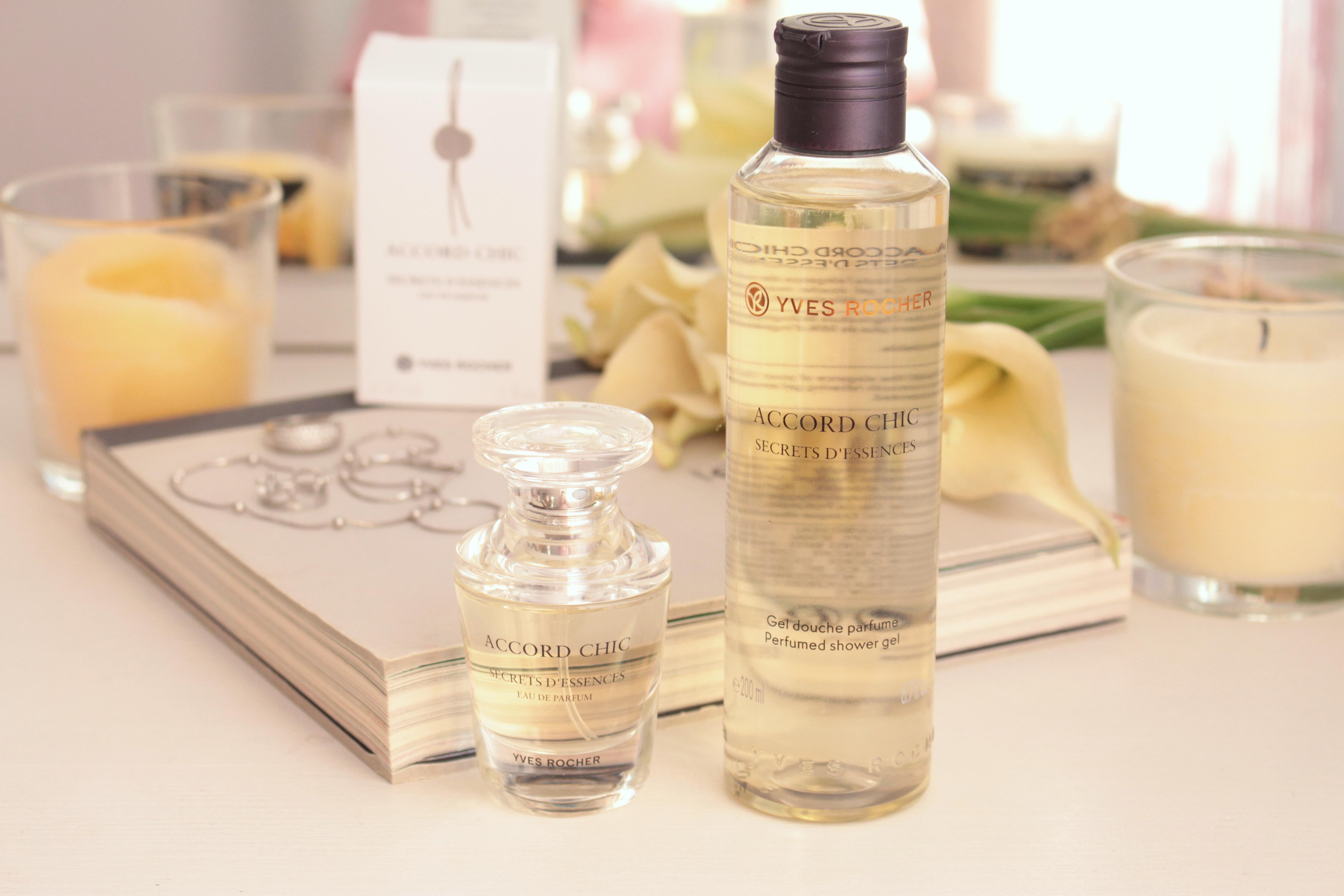 Yves Rocher Secrets D'essences Accord Chic Eau De Parfum & Perfumed Shower Gel Парфюмерная вода и Парфюмированный гель для душа