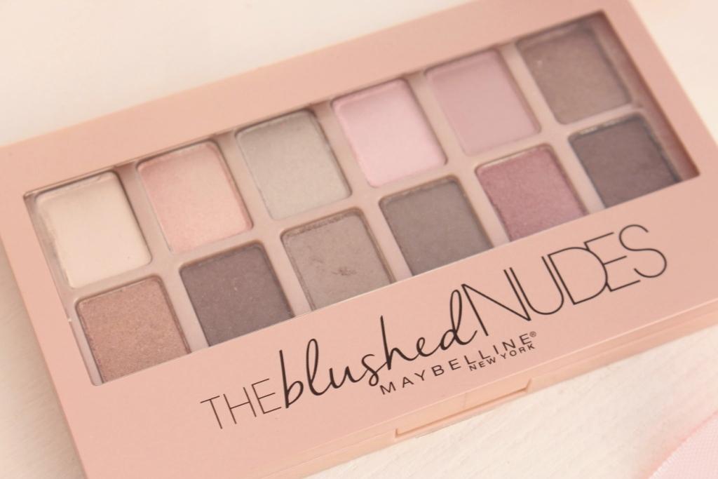 Maybelline The Blushed Nudes Eyeshadow Палетка теней