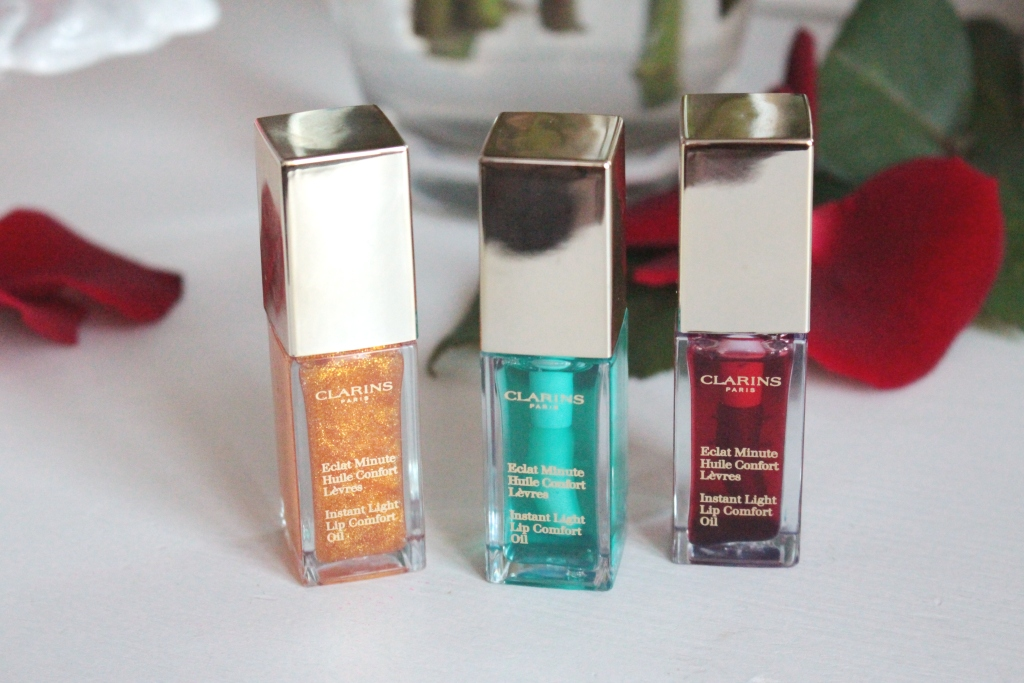 Clarins Instant Light Lip Comfort Oil Масла для губ