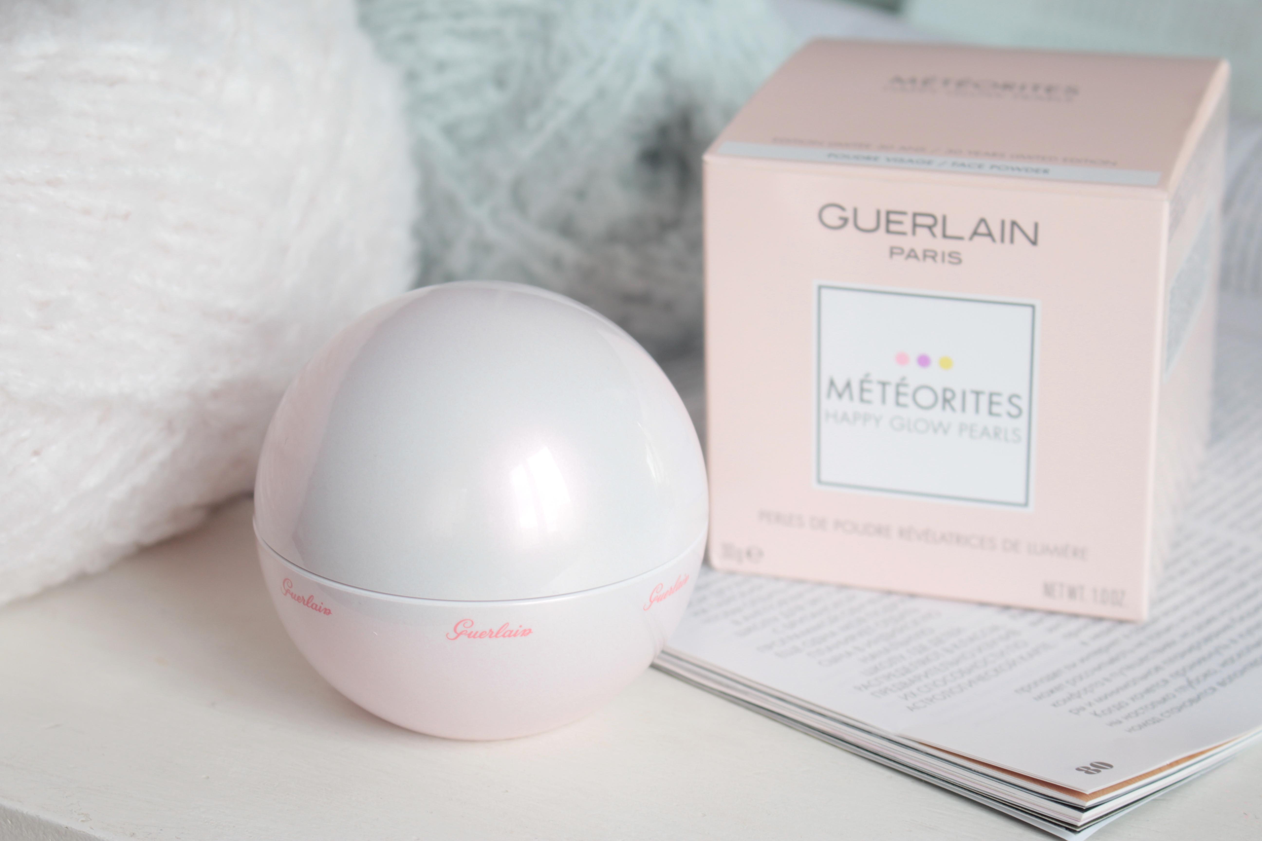 Guerlain Meteorites Happy Glow Pearls Лимитированный выпуск