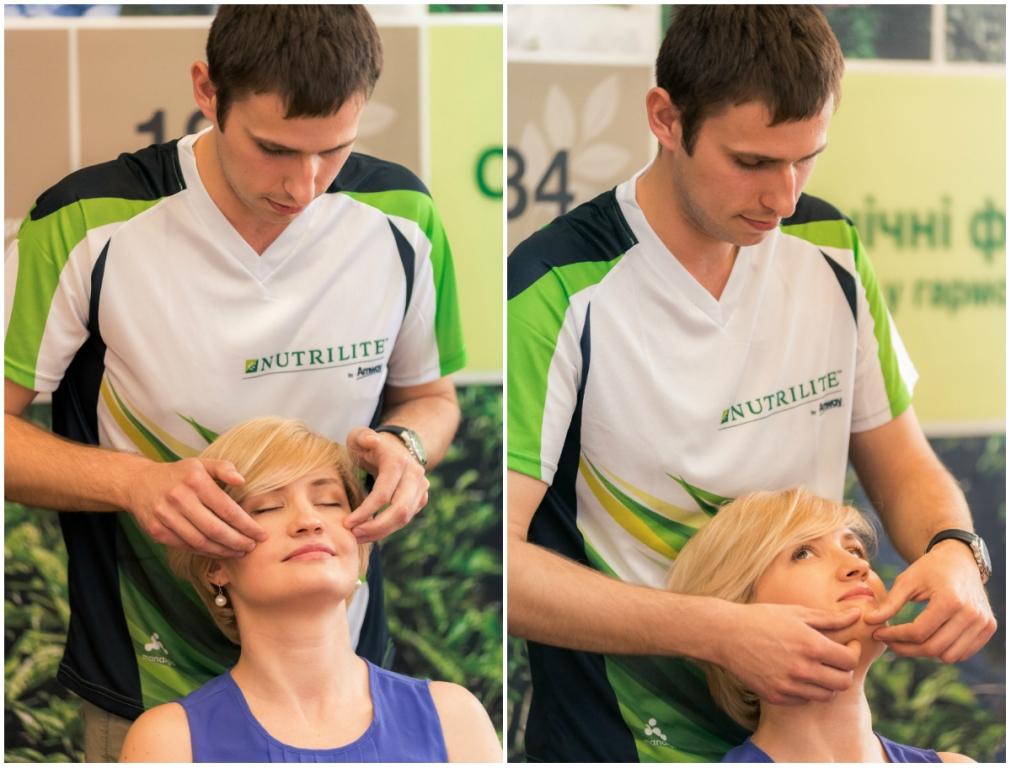 точечный массаж лица и шеи