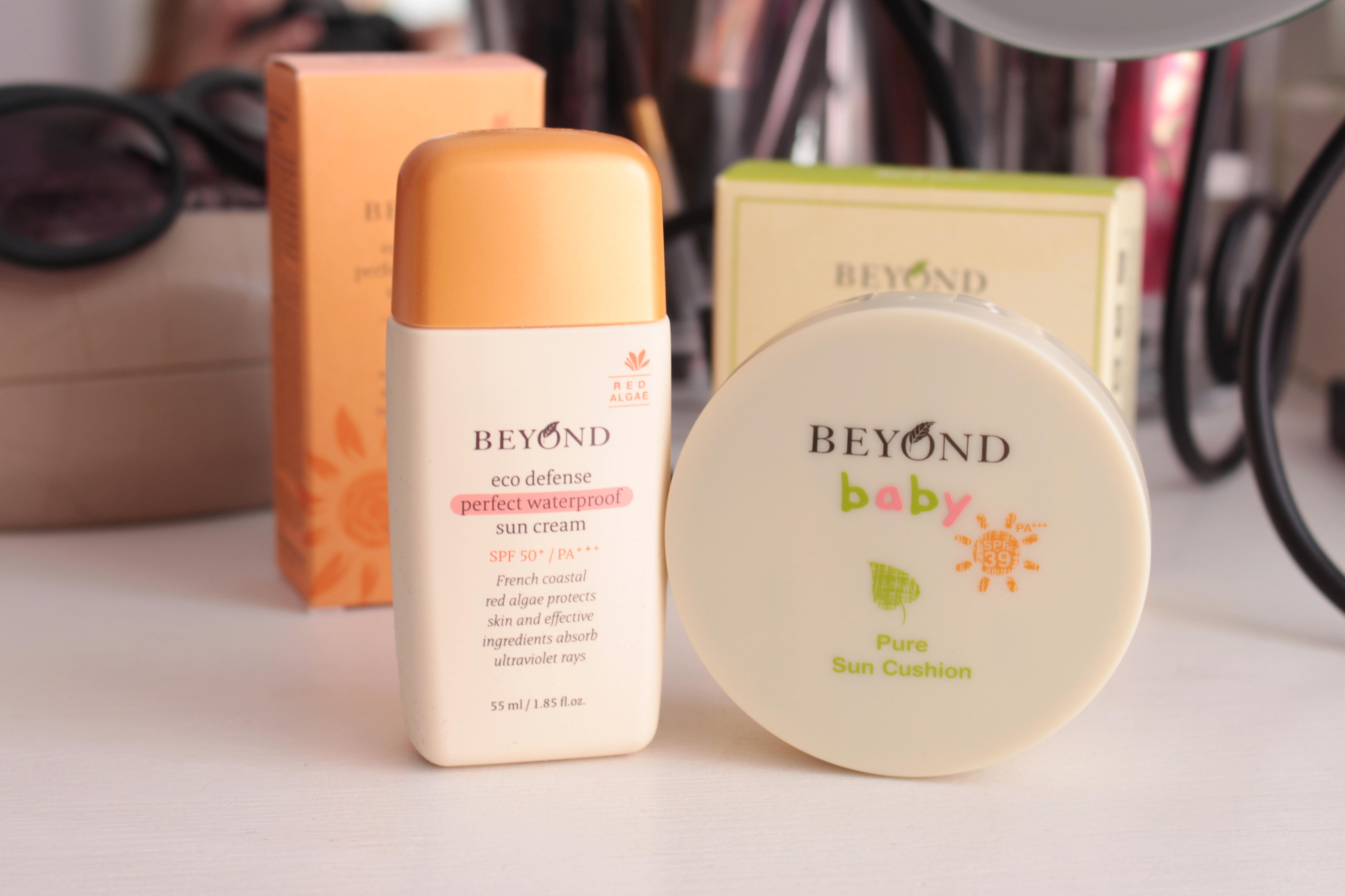 Защита от солнца с косметикой Beyond