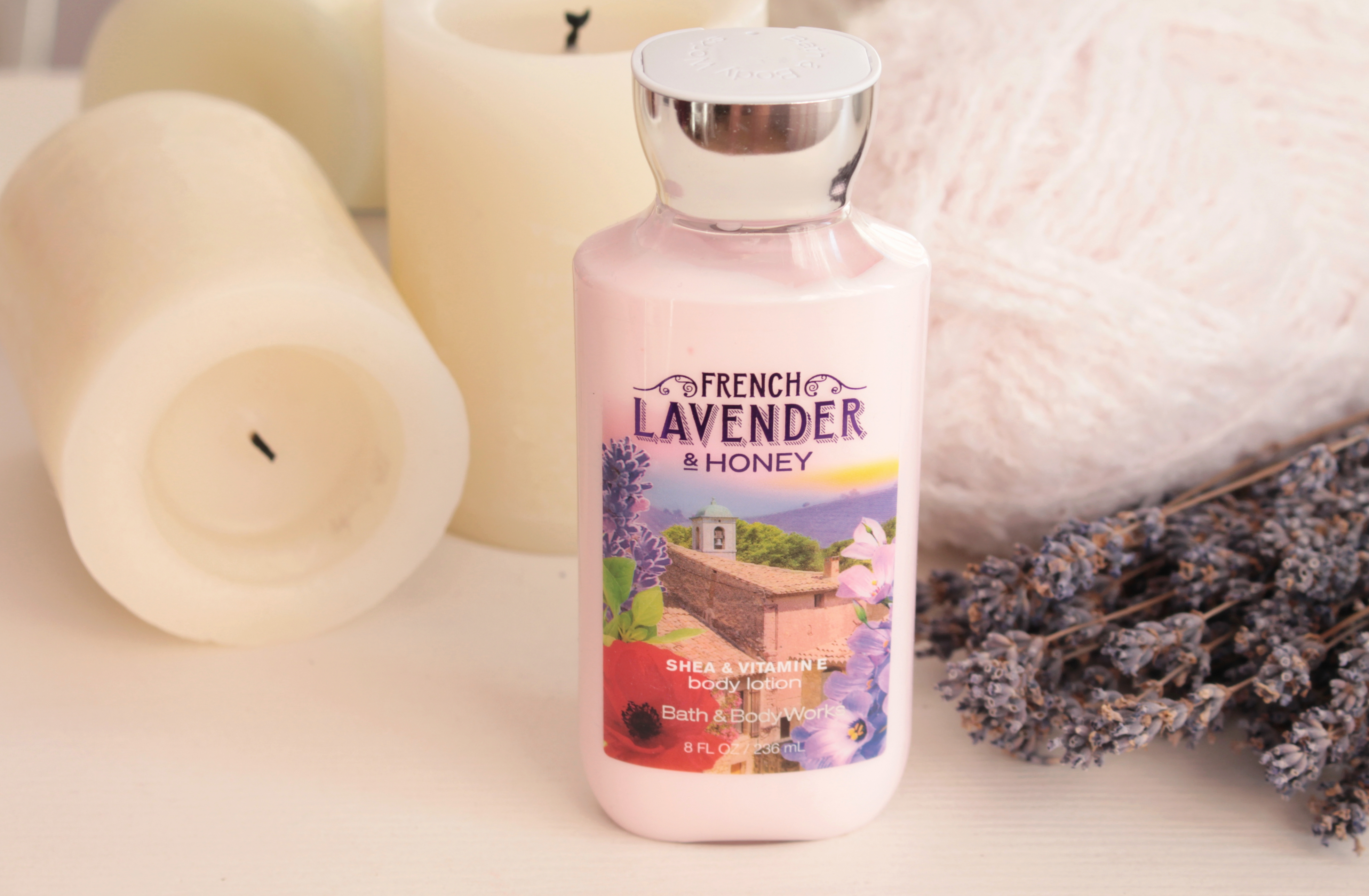 "Bath & Body Works Body Lotion ""French Lavender&Honey"" Лосьон для тела"