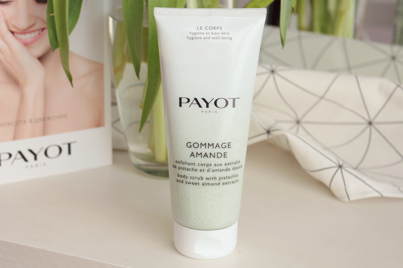 Payot Gommage Amande Скраб для тела с экстрактами фисташки и сладкого миндаля