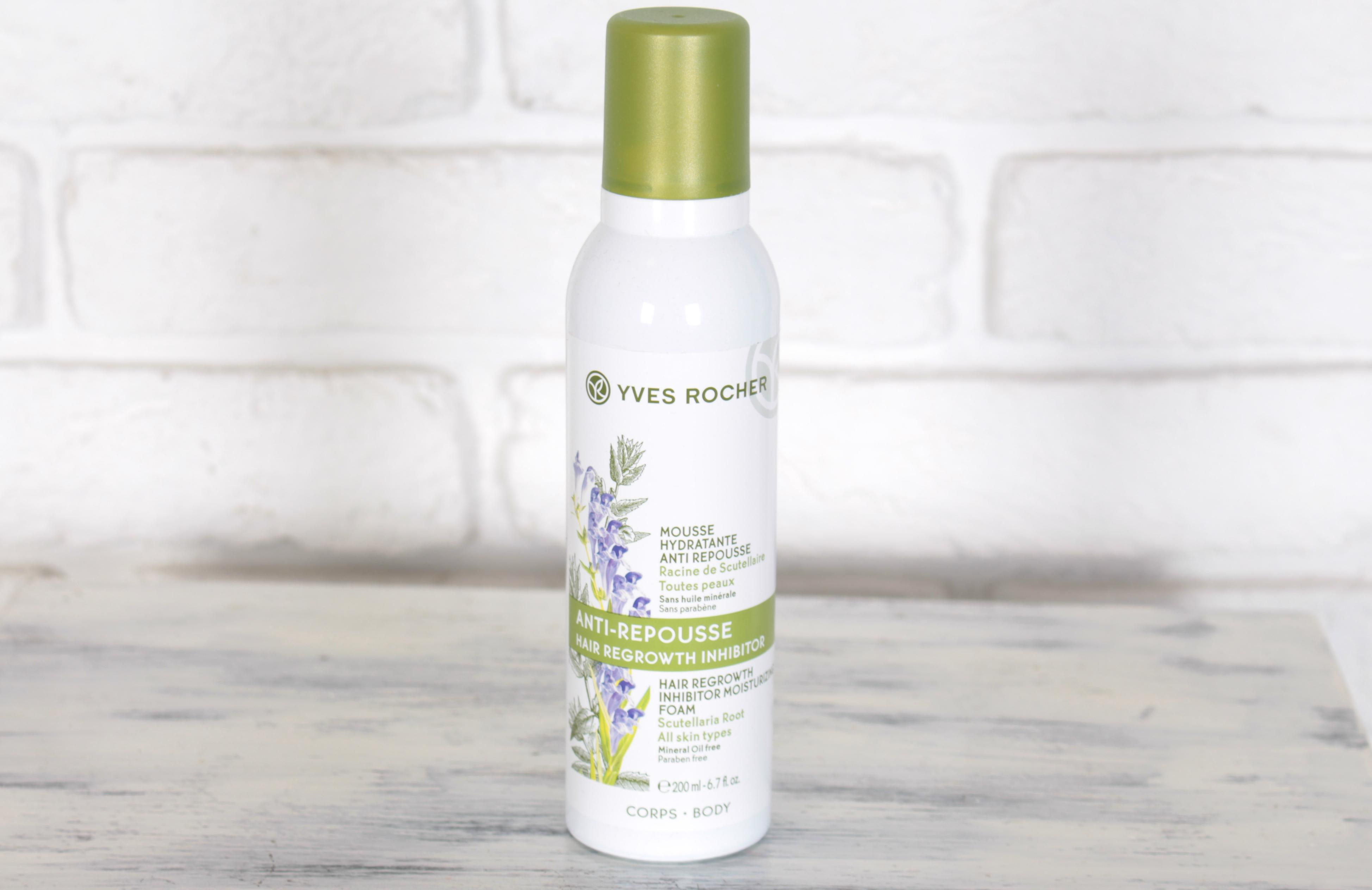 Yves Rocher Hair Regrowht Inhibitor Moisturizing Foam Увлажняющий мусс для замедления роста волос