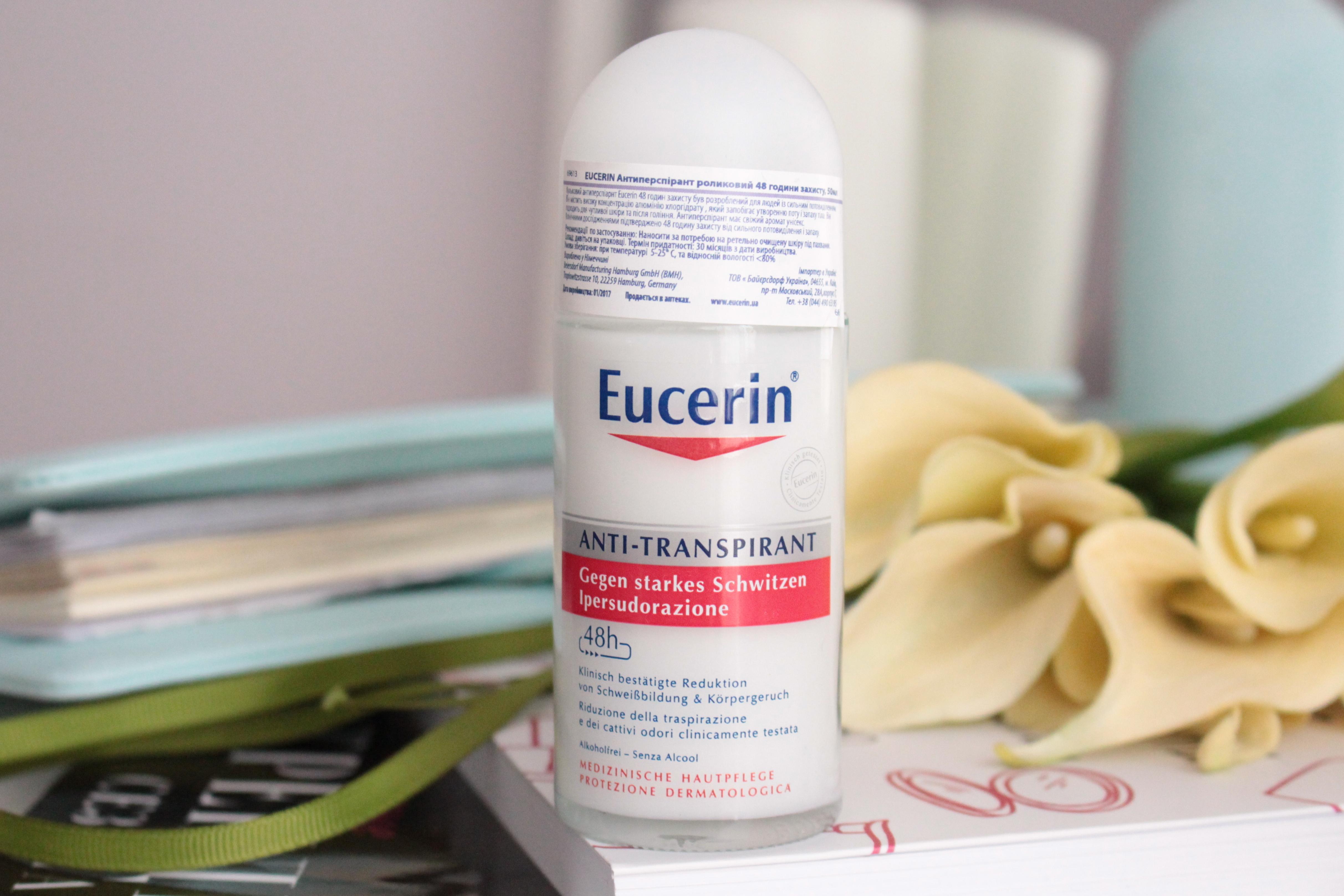 """Eucerin Anti-Transpirant Роликовый антиперспирант """"48-часов защита"""""""