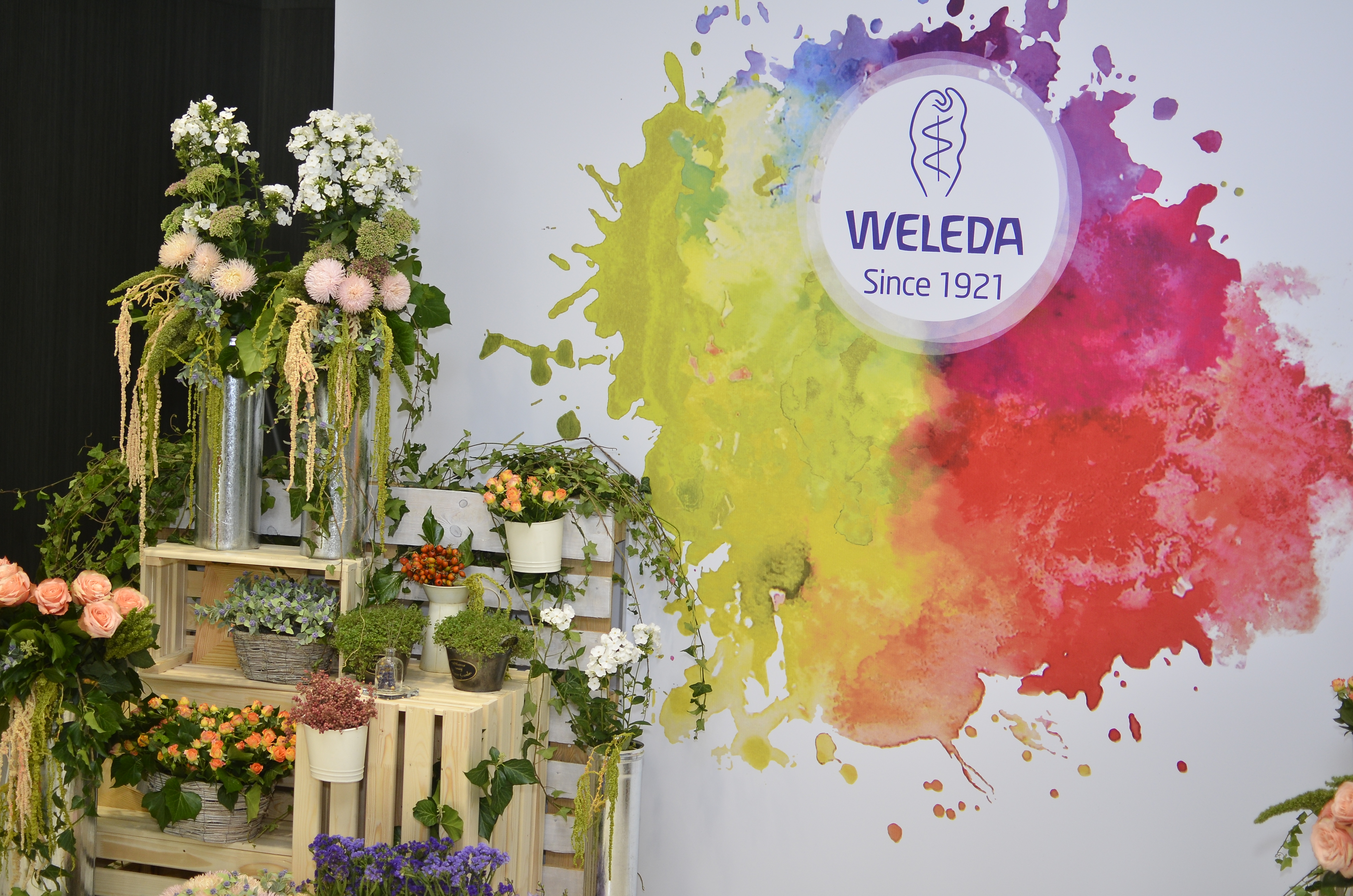 Презентация осенних новинок Weleda