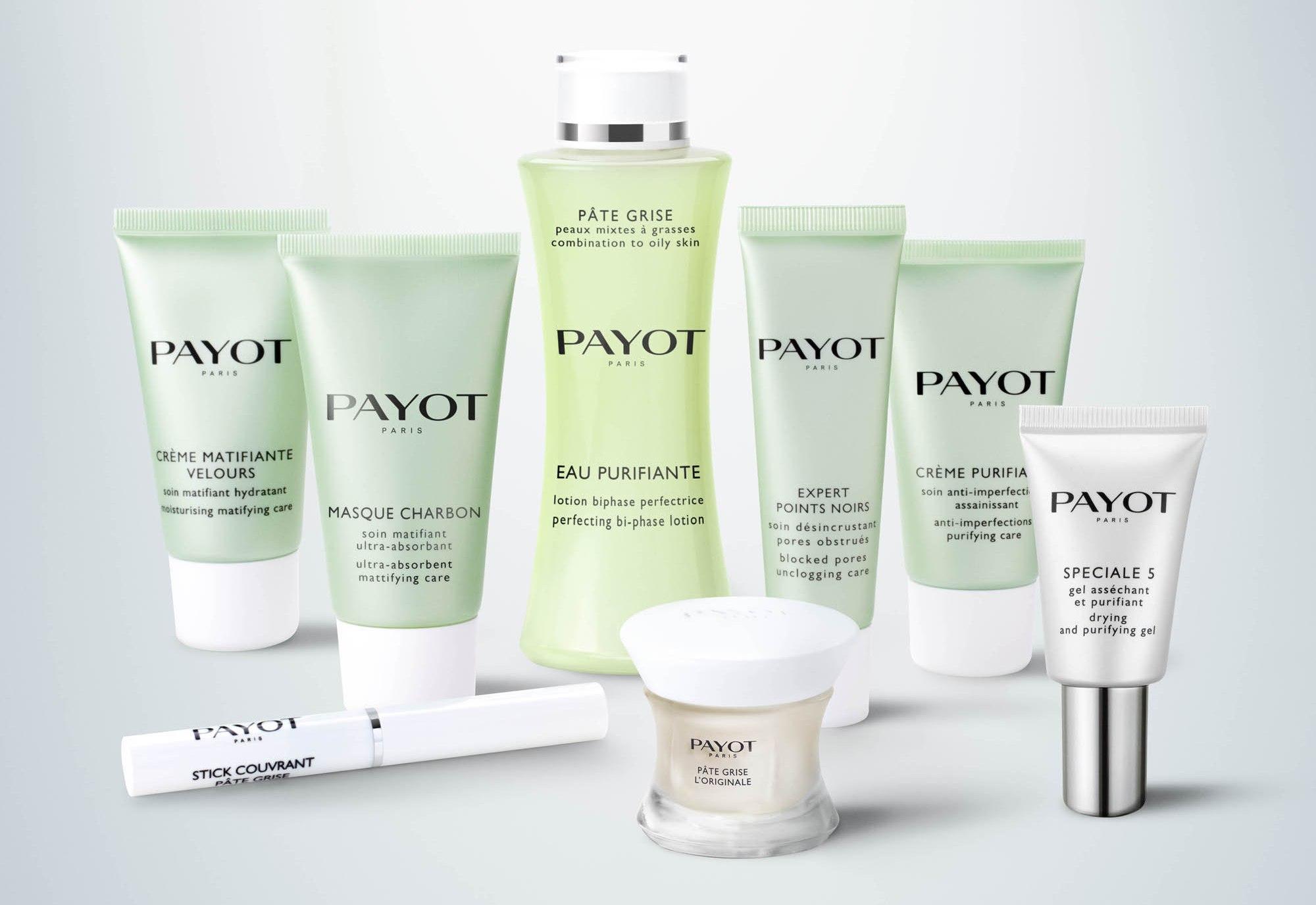 Новая линейка Pate Grise для жирной и комбинированной кожи от Payot