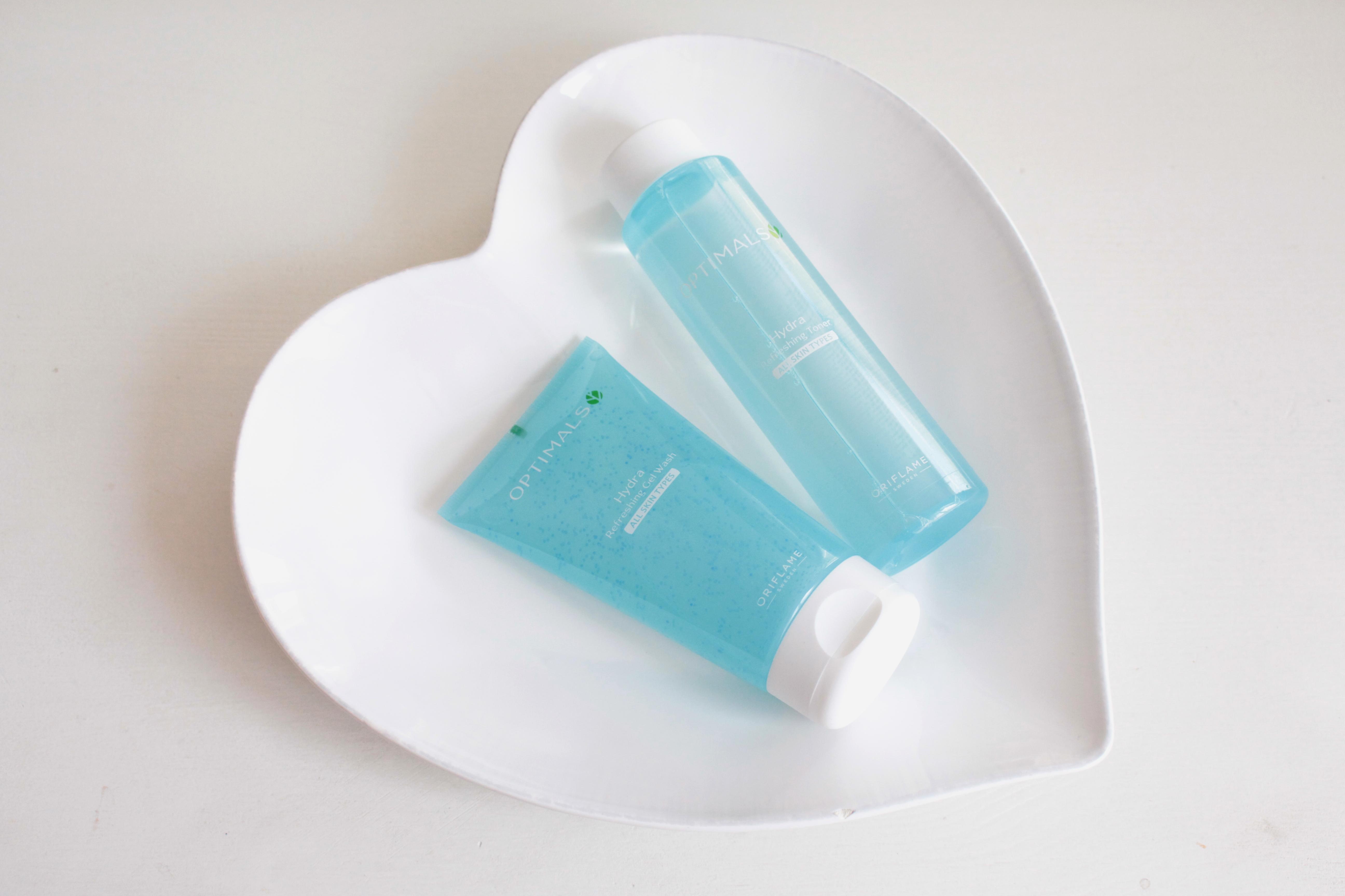 Oriflame Optimals Hydra Gel  Wash & Toner Гель для умывания и тоник