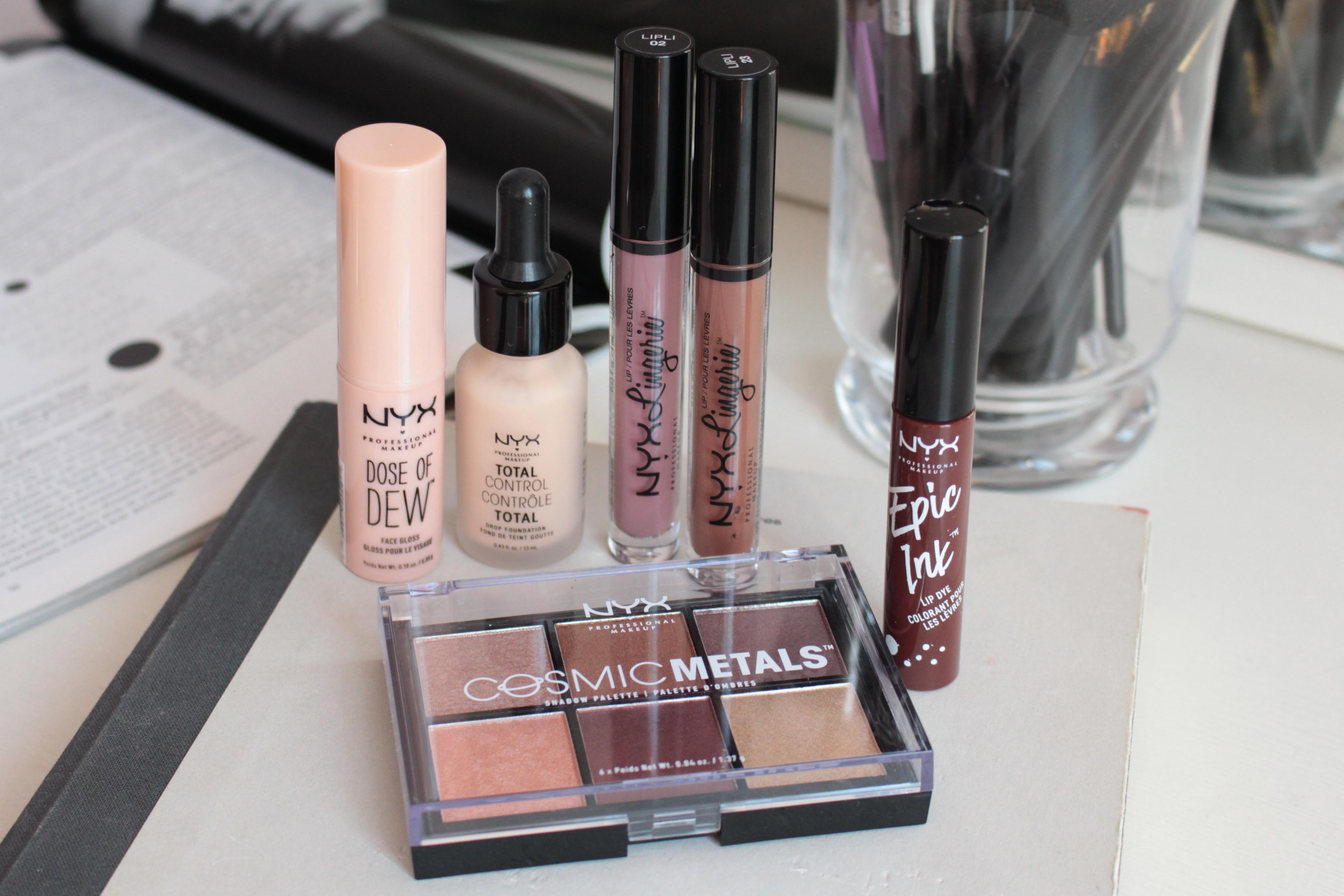 NYX Cosmetics Новинки Декоративной Косметики