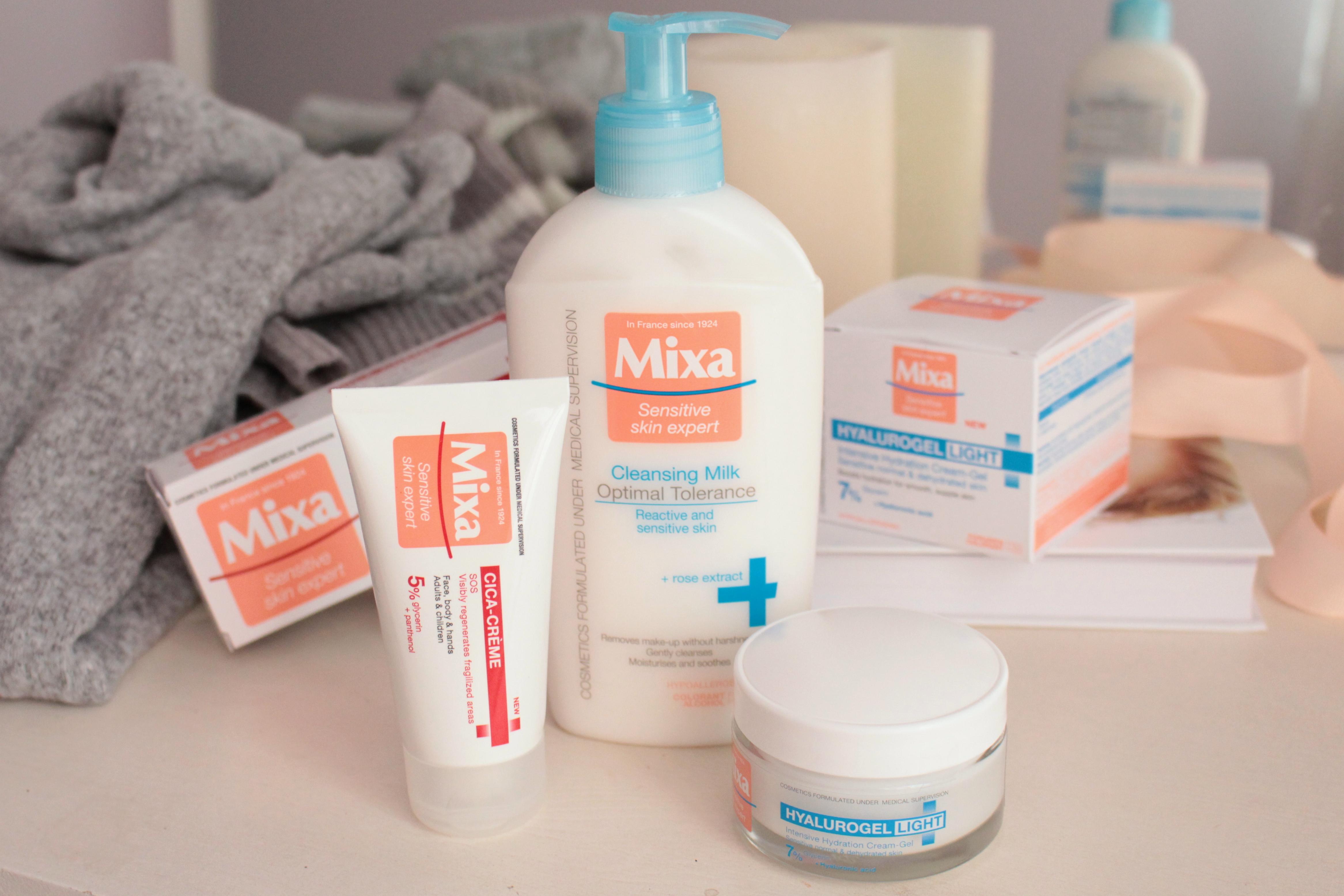 Знакомство с косметикой Mixa