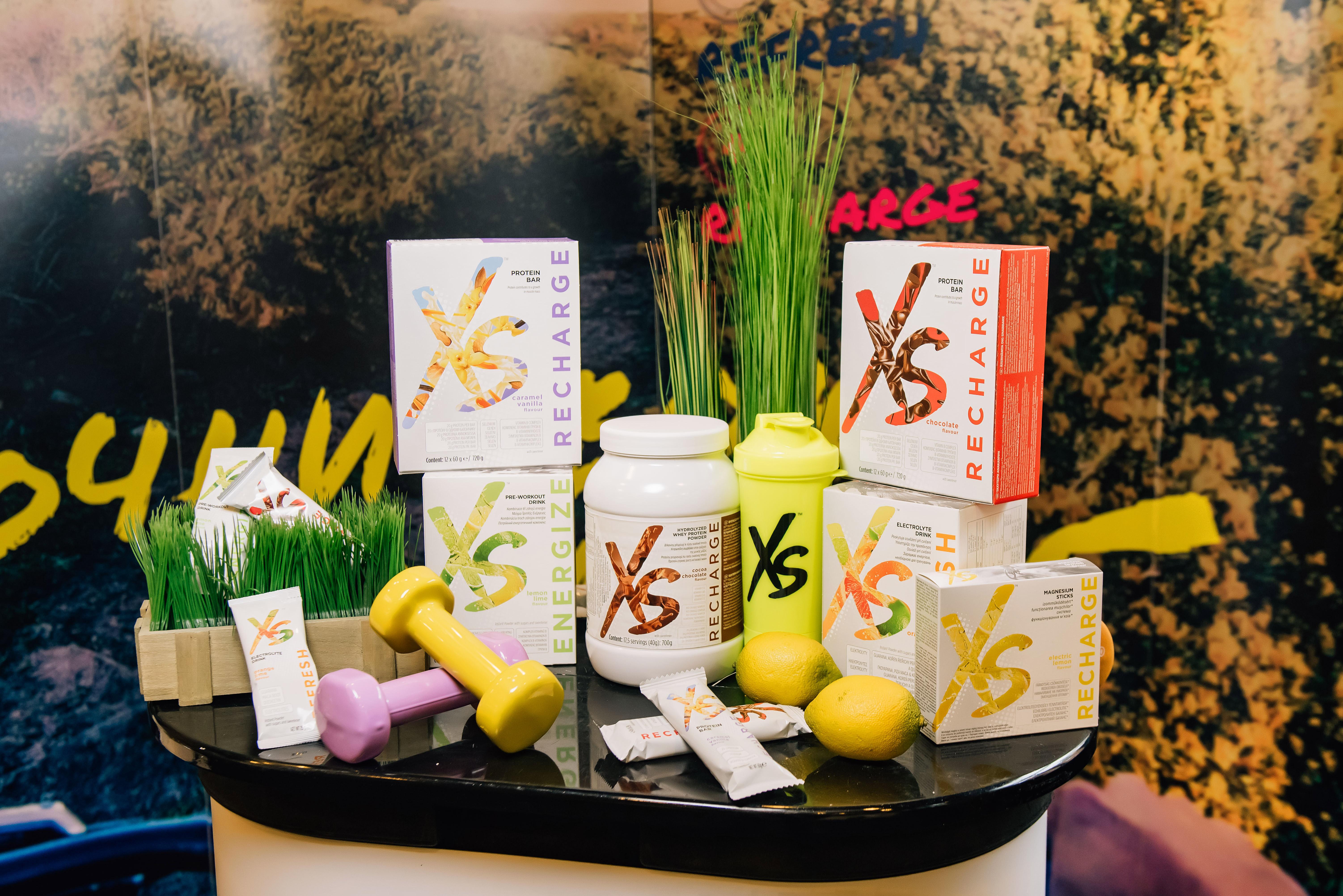 Новая линейка спортивного питания XS Sports Nutrition от Amway