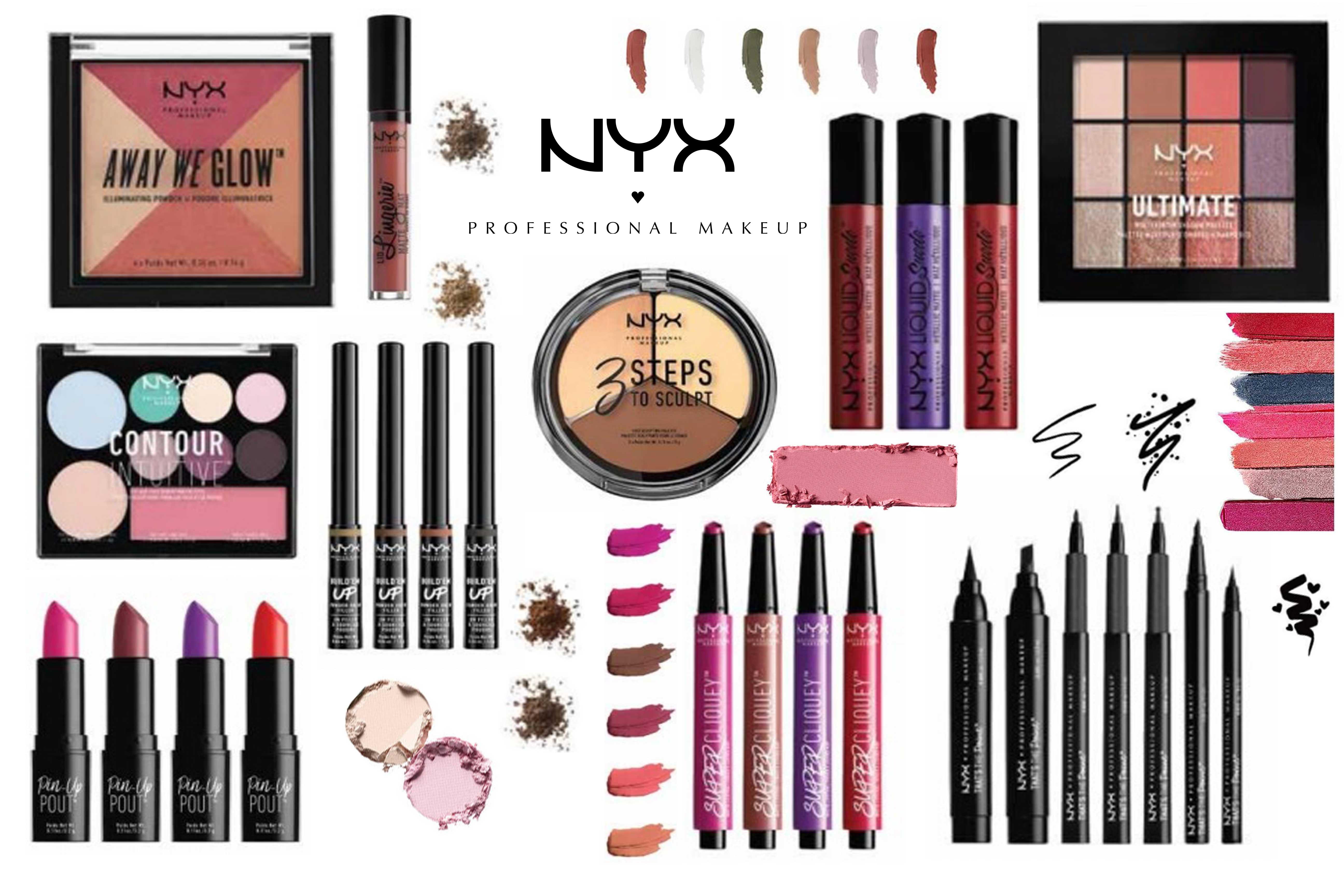 Осенние новинки NYX Cosmetics