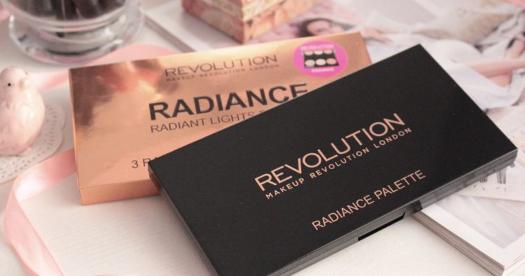 Make Up Revolution Radiant Lights Palette Палетка хайлайтеров