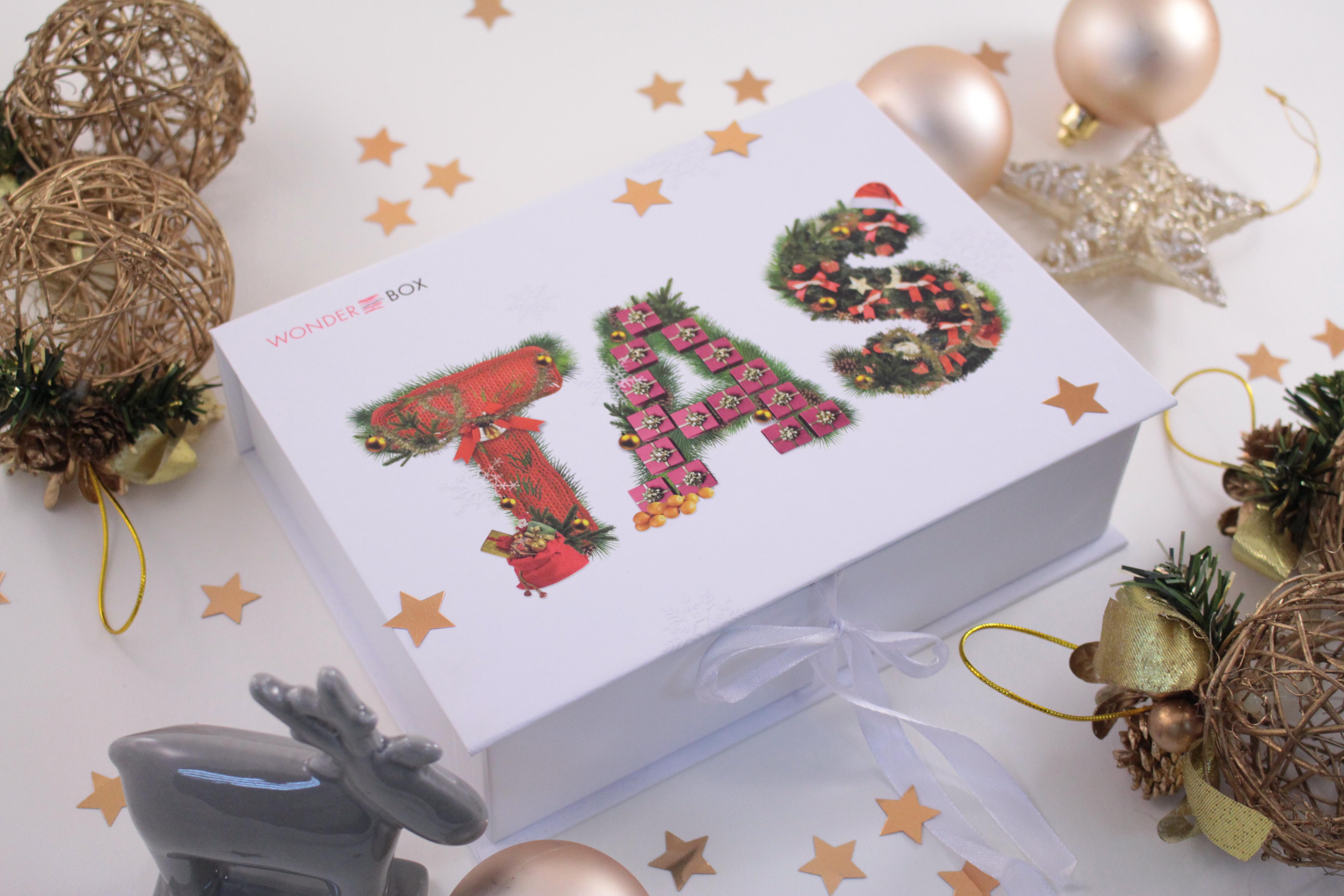 Лимитированная коробочка Wonderbox & TAS