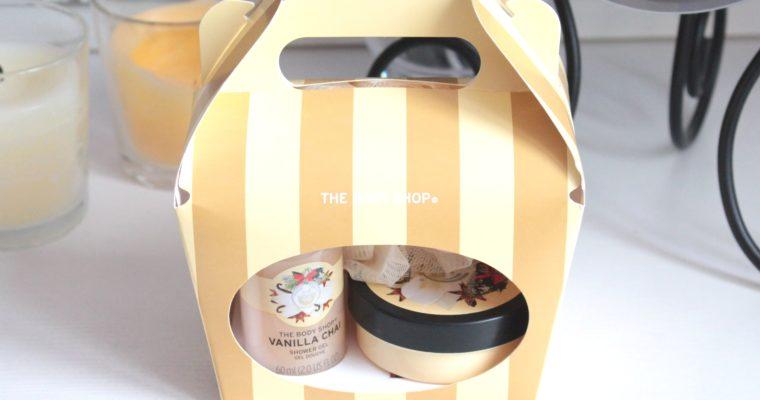 "The Body Shop Vanilla Chai Подарочный набор ""Ванильный чай"""
