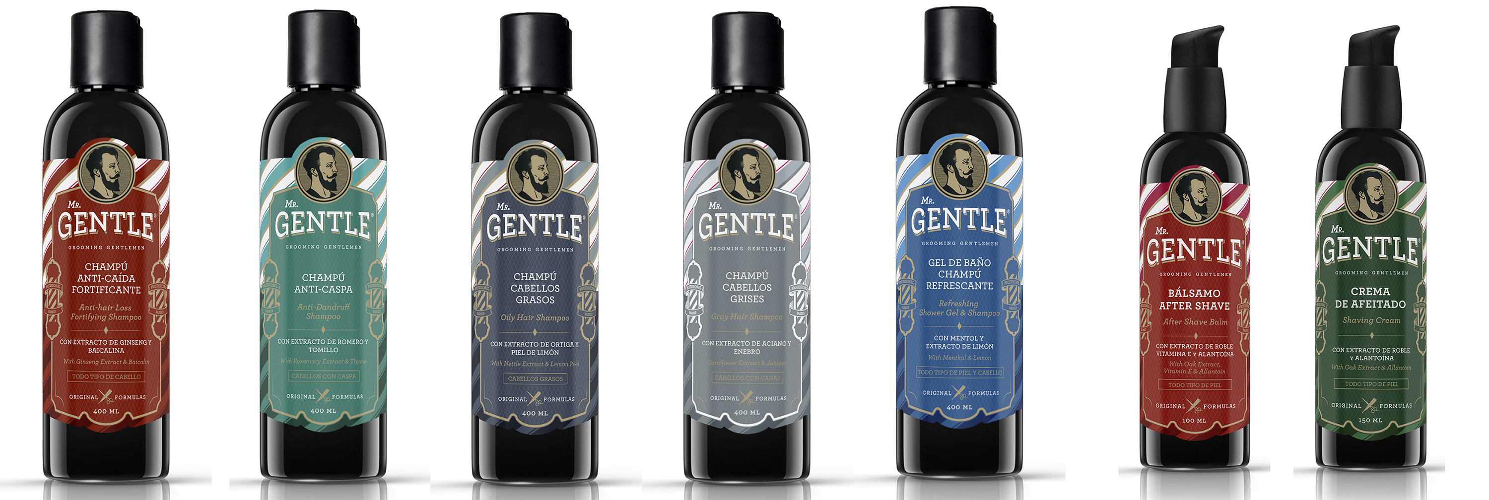 Линия для мужчин Mr.Gentle Grooming Gentlemen от La Cabine