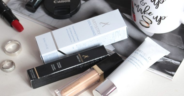 Artistry Ideal Radiance Illuminating CC Creme & Artistry Exact Fit Perfecting Concealer