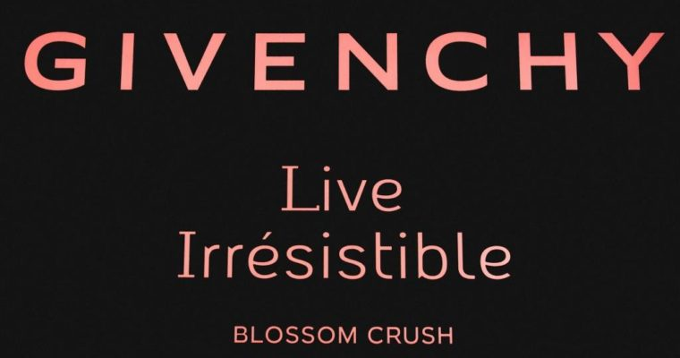Презентация аромата Givenchy Live Irresistible Blossom Crush