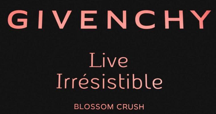 Презентация аромата Givenchy Live Irresistible Blossom Crush