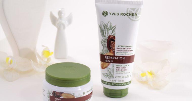 Yves Rocher Растительный уход за телом с маслом карите