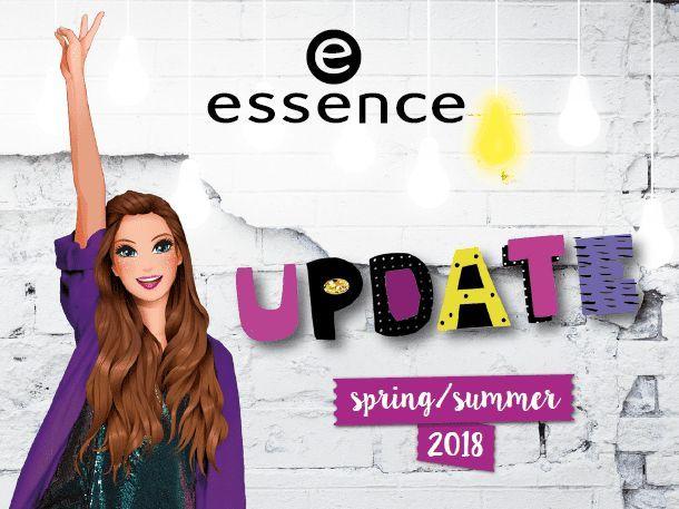 Коллекция Essence Update Spring\Summer 2018