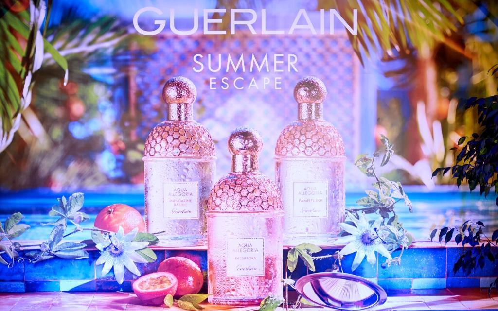 Презентация новых ароматов Guerlain Aqua Allegoria
