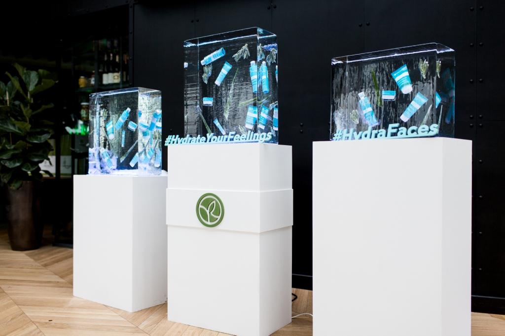 Презентация обновленной гаммы Hydra Vegetal от Yves Rocher