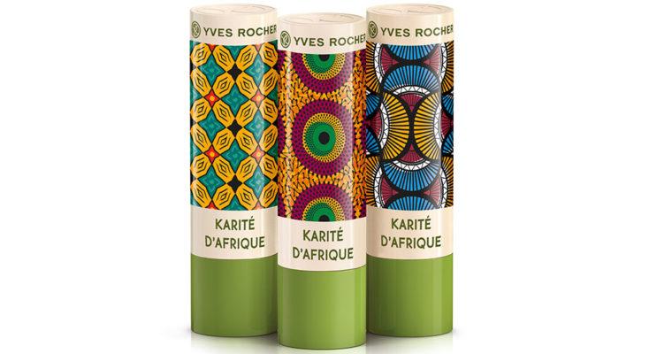 Лимитированная коллекция бальзамов для губ Yves Rocher Карите
