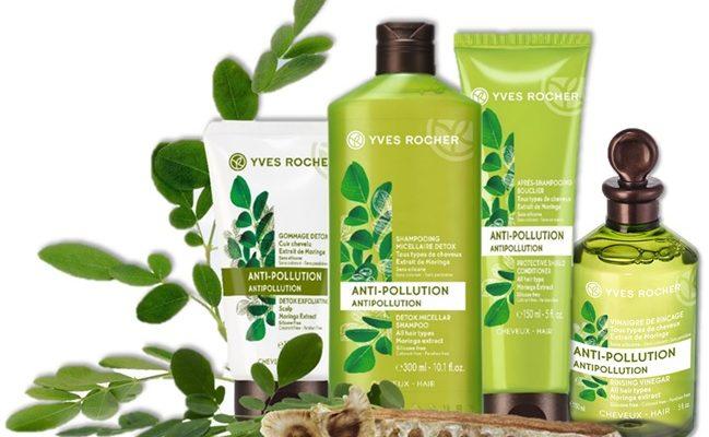 Yves Rocher Гамма для ухода за волосами «Детокс и восстановление»