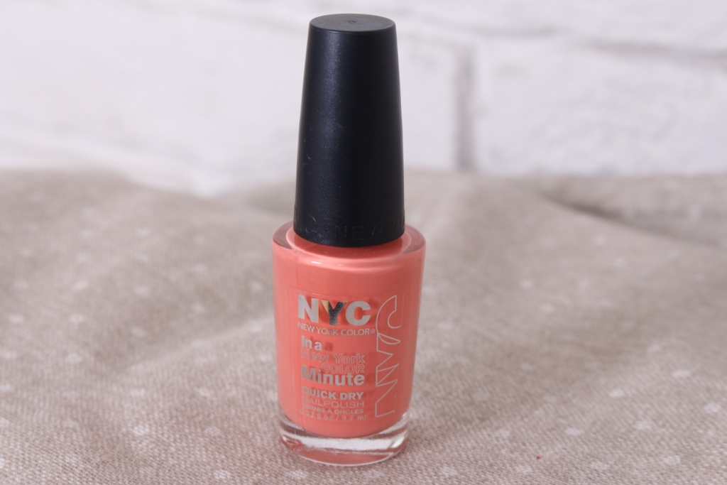 NYC In A New York Color Minute Quick Dry Nailpolish «345 Peach Popsicles» Лак для ногтей
