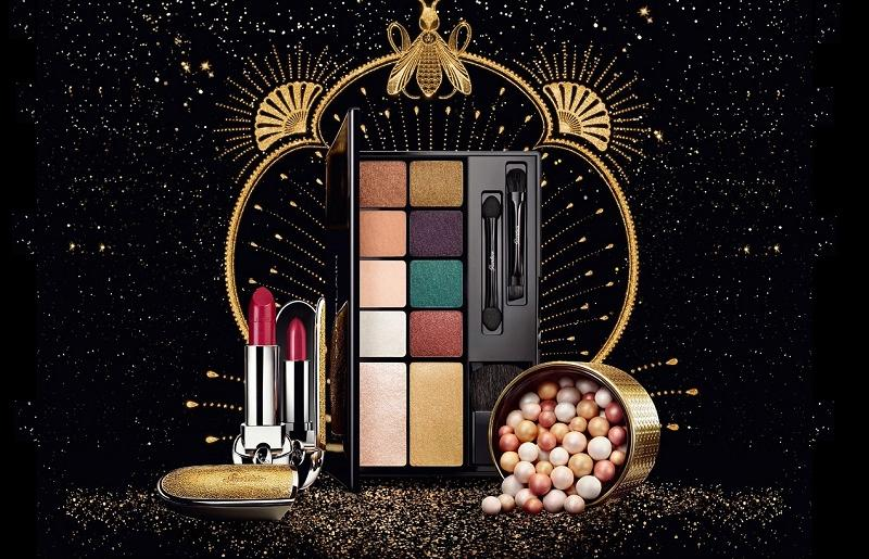 Рождественская коллекция Guerlain Electric Look Makeup Collection Holiday 2018