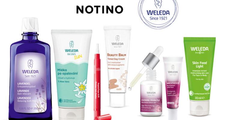 Подборка интересных средств Weleda на сайте Notino