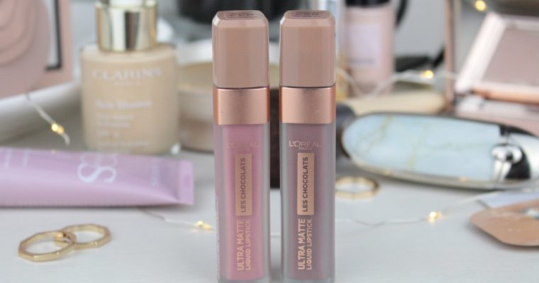 "L'oreal Les Chocolats Ultra Matte Liquid Lipstick ""842 Candy Man"" & ""852 Box Of Chocolates"" Жидкие матовые помады"