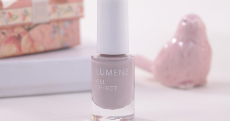 Lumene Gel Effect Nail Polish «37 Pebble Beach» Лак для ногтей