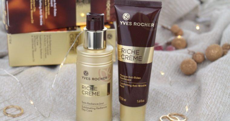 Yves Rocher Новинки линейки Riche Creme