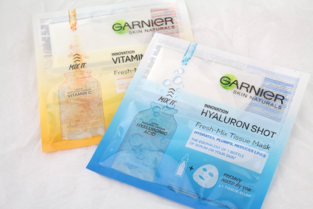 Garnier Fresh-Mix Tissue Mask Новые тканевые маски