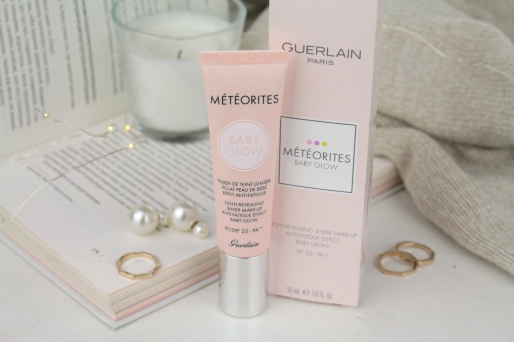 Guerlain Meteorites Baby Glow Light-Revealing Sheer Make-Up Anti-Fatigue Effect SPF 25 Тональная основа