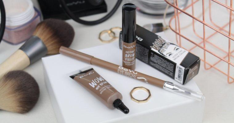 Новинки BeYu для макияжа бровей