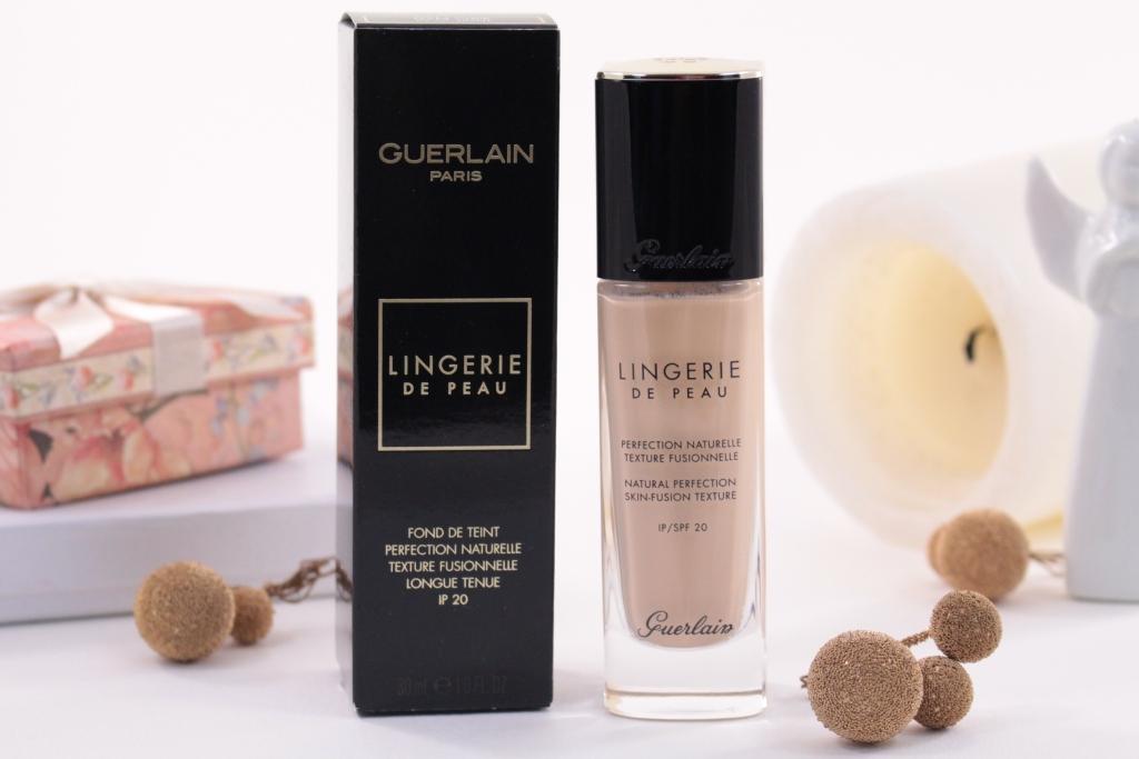"""Guerlain Lingerie De Peau Natural Perfection Skin-Fusion Texture SPF20 """"02N"""" Тональная основа"""